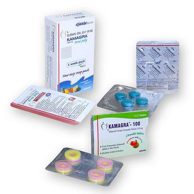 Paquete Viagra Generico