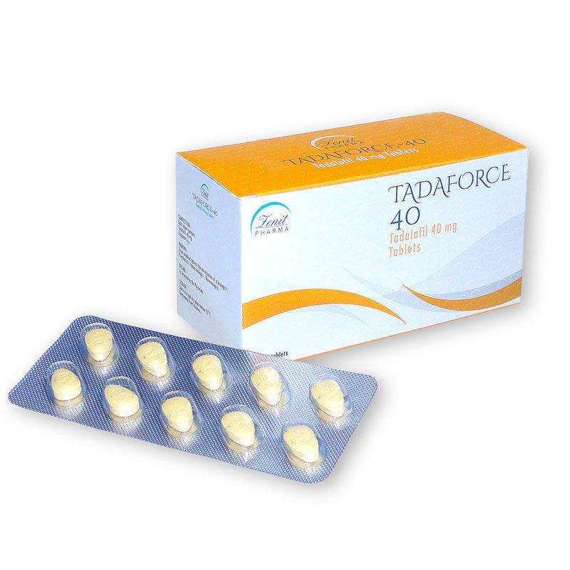 Tadaforce, erecciones seguras y fáciles con una pastilla