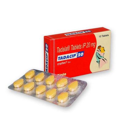 Tadacip 20mg 10 pastillas